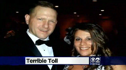 Indiana newlywed killed while helping stranded motorist