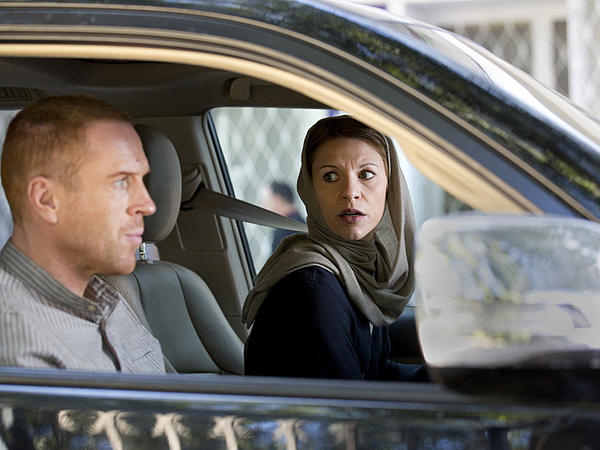 """Damian Lewis (left) as Nicholas Brody and Claire Danes as Carrie Mathison in """"Homeland."""""""