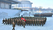 Memorial for late North Korean leader Kim Jong Il
