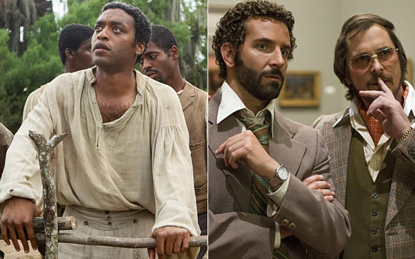 """12 Years a Slave"" and ""American Hustle"" lead the nominees for the latest Critics' Choice Movie Awards."