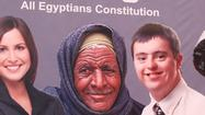 Egypt constitution referendum campaign begins with flap over banner