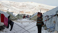 Rare snow blankets Middle East
