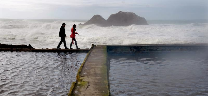 Sutro Baths, San Francisco. (Christopher Reynolds / Los Angeles Times)