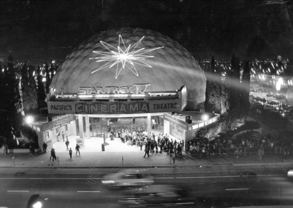 The dome in 1986. (Los Angeles Times)