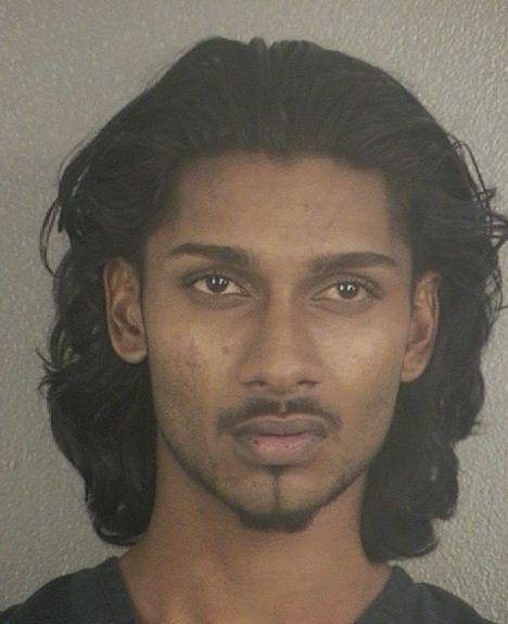 Vindar Shivam Balwah, 20, is accused of stabbing several people while threatening to kill and ex-girlfriend in Hollywood