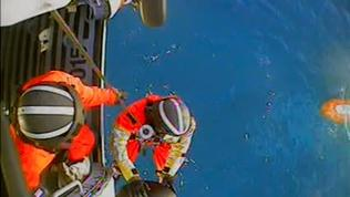 VIDEO: Coast Guard Medevac From Cruise ship