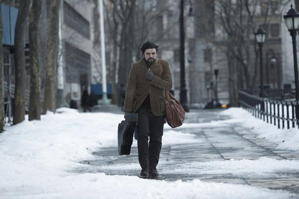 "Oscar Isaac in Joel and Ethan Coen's movie ""Inside Llewyn Davis."""