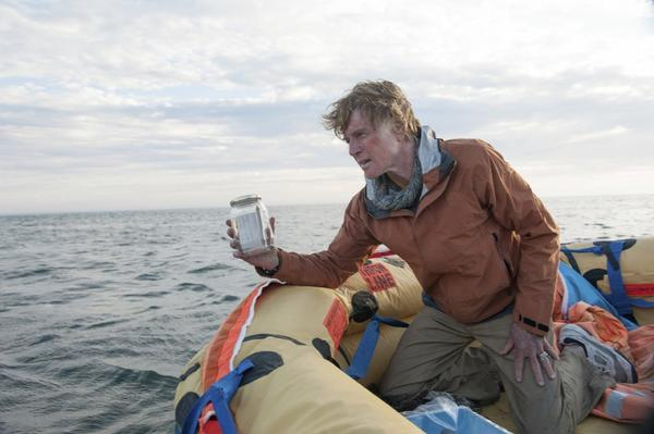 "Robert Redford, here in a scene from ""All Is Lost,"" is the recipient of the Santa Barbara International Film Festival's American Riviera Award."