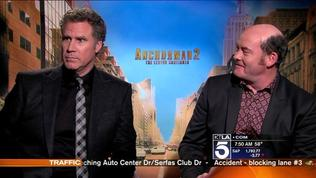 Sam Chats With The Cast Of Anchorman 2