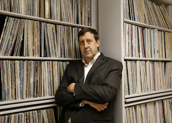 Dan Bindert, station manager of WDCB 90.9 FM.