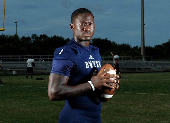 Johnnie Dixon, Dwyer High's widely recruited wide receiver.