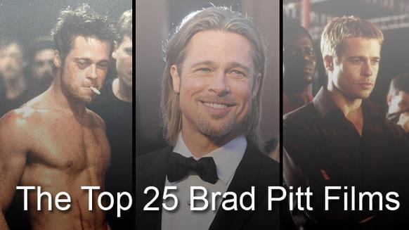brad pitt best movies list