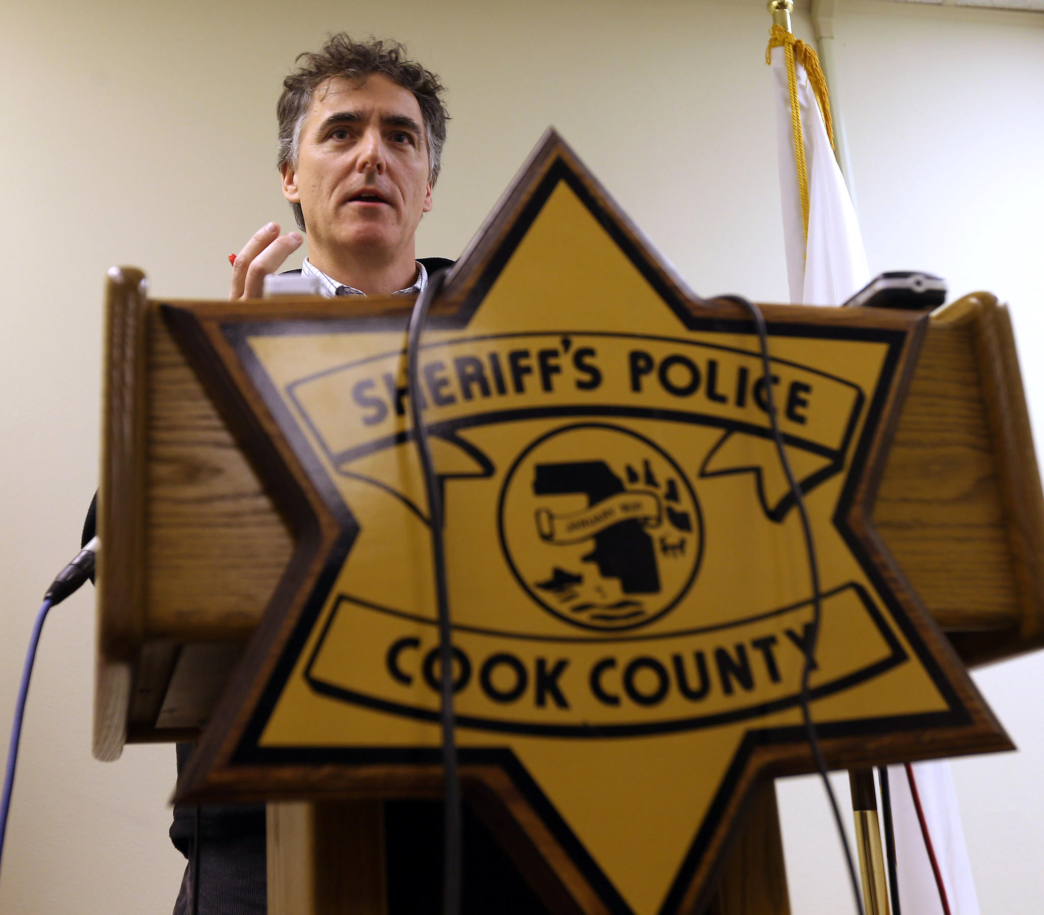 Cook County Sheriff Tom Dart discusses a strategy to manage the impending deluge of concealed carry license applications.