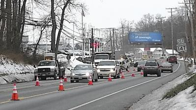 Roadwork hits Bel Air as BGE replaces gas lines