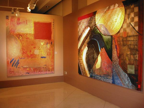 Artist James M. Bojarzuk is exhibiting at Orlando City Hall's Terrace Gallery.