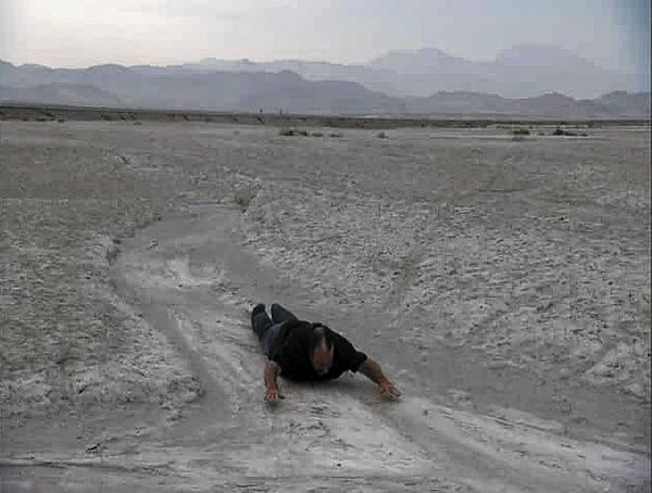 "Dominique De Fazio stars in ""Dancing on a Dry Salt Lake."""
