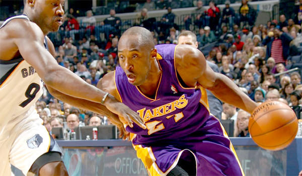 Lakers star Kobe Bryant has yet to return to form since hitting the court after recovering from a torn Achilles' tendon in April.
