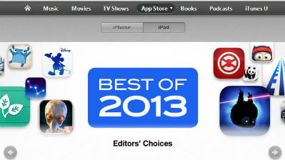 Apple says Disney animation app is best iPad app for 2013