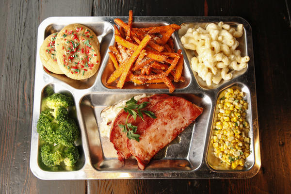 Rockit's throwback-inspired TV dinner special