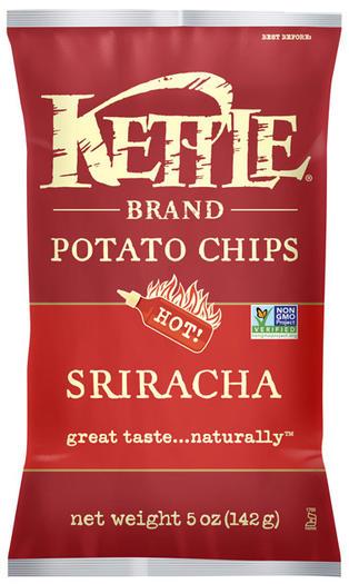Sriracha-flavored Kettle chips