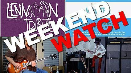 Weekend Watch: Tribute to Jimi Hendrix, John Lennon Tribute, Harmony Winter Festival