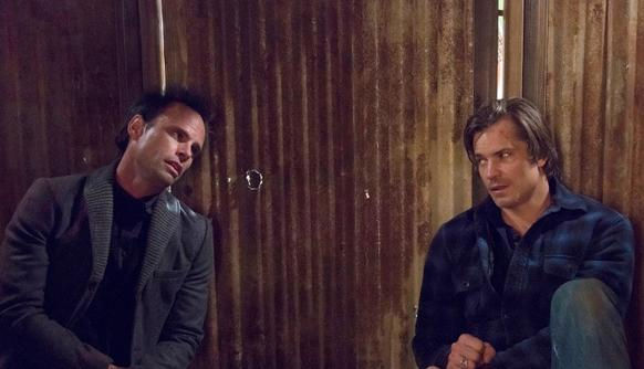 """On: FX <br>Watch now: iTunes, Amazon, DVD; Season 5 begins Jan. 7 <br>In its stellar fourth season, perennial favorite """"Justified"""" tweaked its game by having Deputy U.S. Marshal Raylan Givens (Timothy Olyphant) take on a D. B. Cooper¿inspired cold case that involved the father he reviles and eventually his friend turned nemesis Boyd Crowder (Walton Goggins). It was a treat watching Olyphant go head-to-head with William J. Barry, who plays Raylan's dad Arlo, and with Goggins, who one the most underrated actors on TV. The season rewarded long-time viewers by using tying events or revelations to those in past seasons as Raylan's search to learn about the man who fell to earth dug up three decades' worth of Harlan County (criminal) history. This show is so layered I watch episodes multiple times and still discover nuances previously missed."""