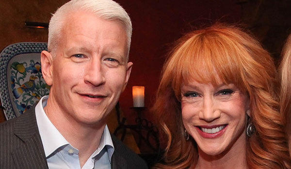 Anderson Cooper and Kathy Griffin (Rob Kim / Getty Images)