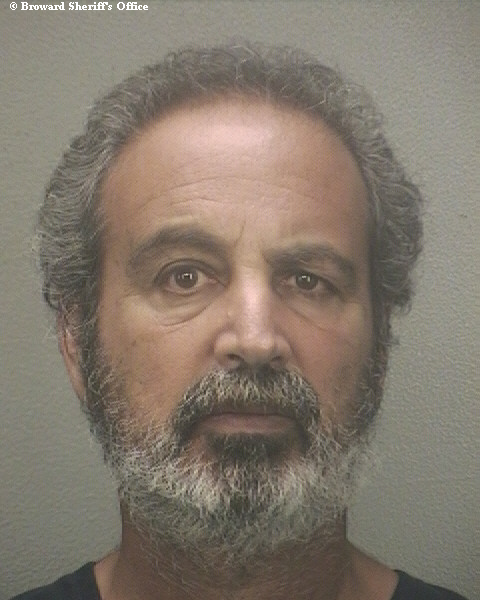 Lee Tunis, 59, is accused of holding up a Broward County bank so that he could get a roof over his head. Handout, Broward Sheriff's Office