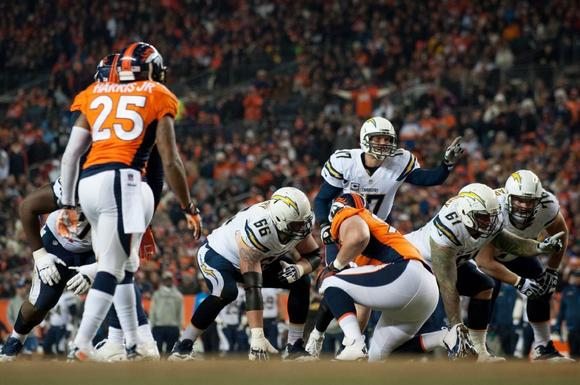 San Diego Chargers and Denver Broncos