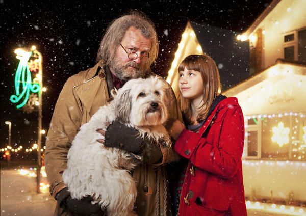"A homeless man (Hugh Bonneville) is befriended by a girl (Nell Tiger-Free) in ""Mr Stink"" on KOCE."