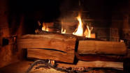 Want to watch a Yule log burn on TV? Here's where to do it