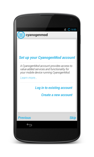 CyanogenMod alternative operating system