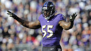 Terrell Suggs taking quiet, measured approach to Patriots this week
