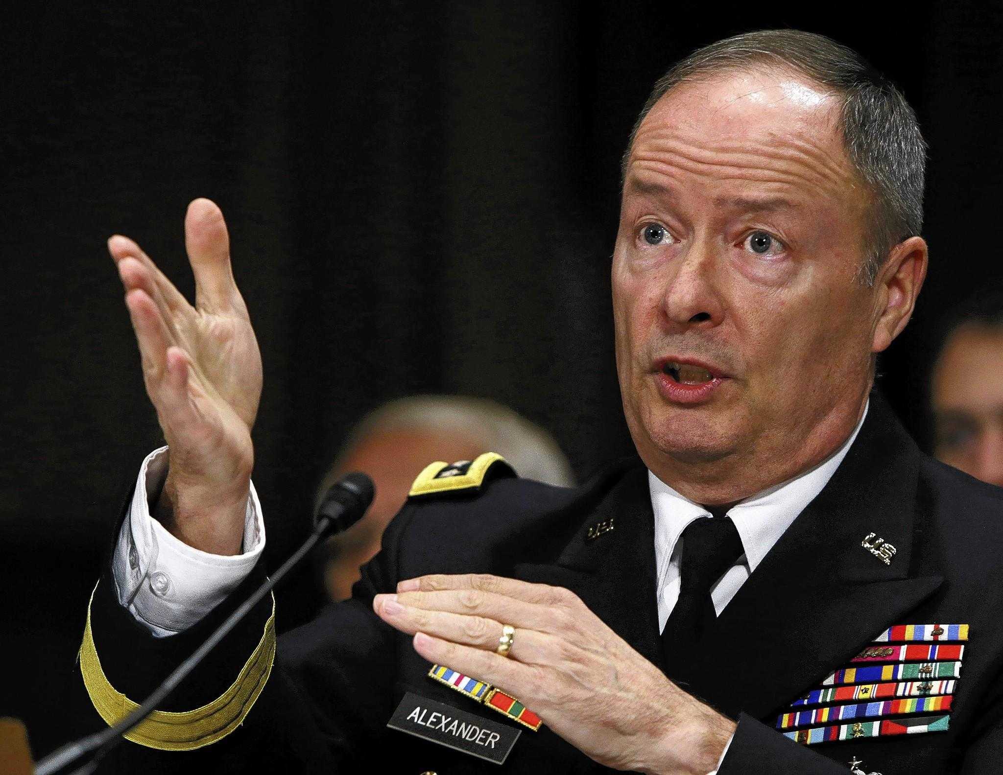 National Security Agency Director Gen. Keith Alexander testifies before the Senate Judiciary Committee in Washington on Dec. 11.
