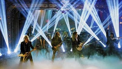 Trans-Siberian Orchestra bings its holiday music and flashy light show to Wells Fargo Center in Philadelphia on Saturday.