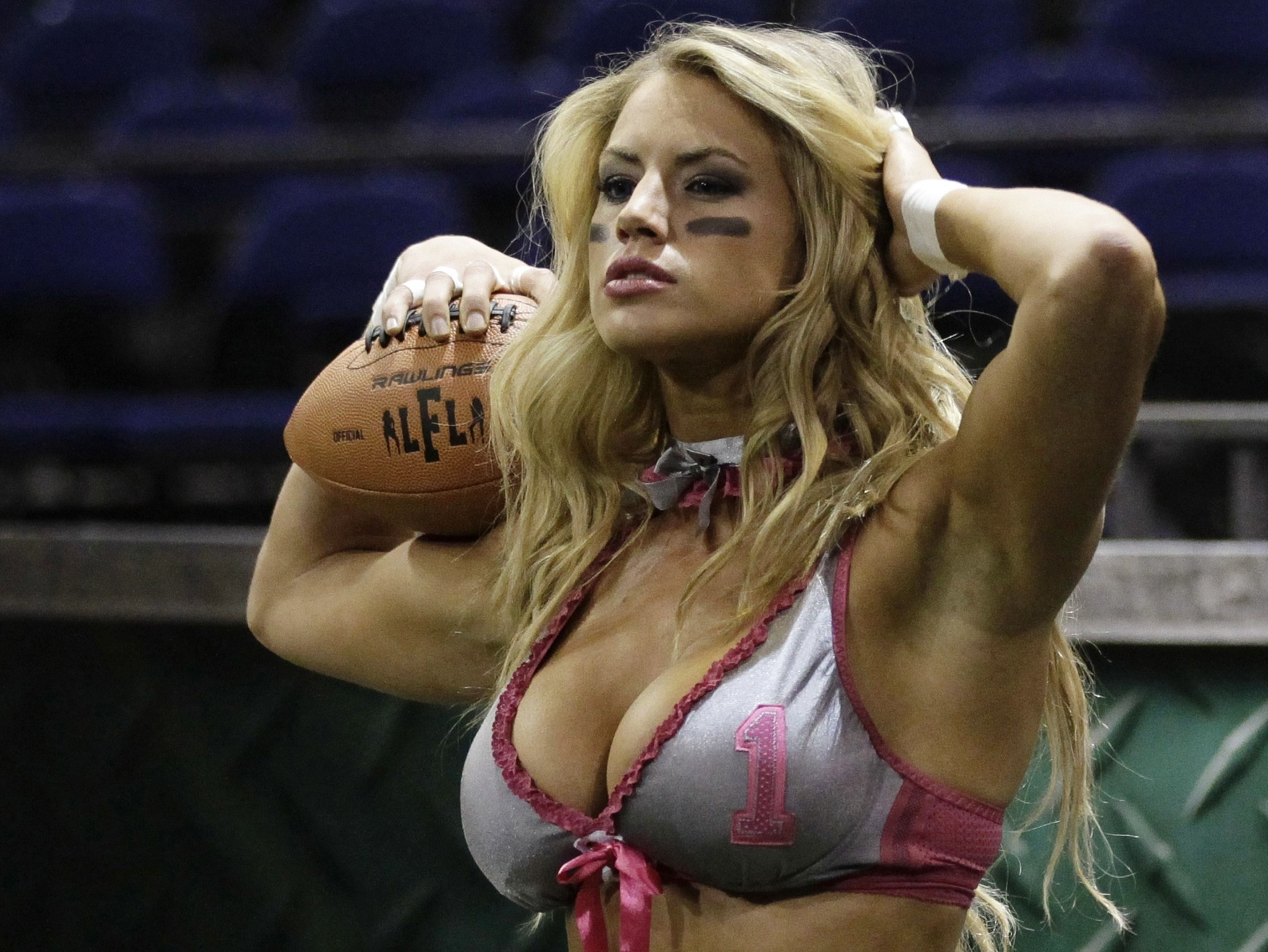 Lingerie Football League's Liz Gorman