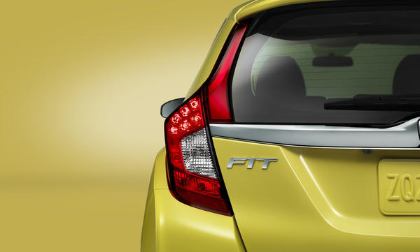 The 2015 Honda Fit will have a new platform and a new engine.