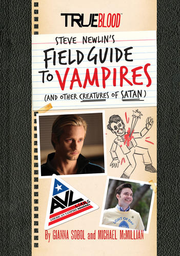 "Artwork from ""True Blood: Steve Newlin's Field Guide to Vampires"" and the ""True Blood"" comic."