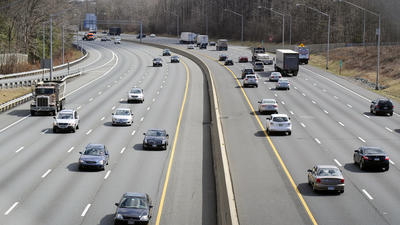 Toll rates set for I-95 express lanes