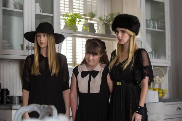 Madison Montgomery's ushanka (far right). Madison wins this distinction in a highly competitive category. Honorable mention to Nan's hat, Zoe's hat, Queenie's hat, Quentin's hat, and Fiona's parasol. <i>-- Captions by Ethan Renner</i>