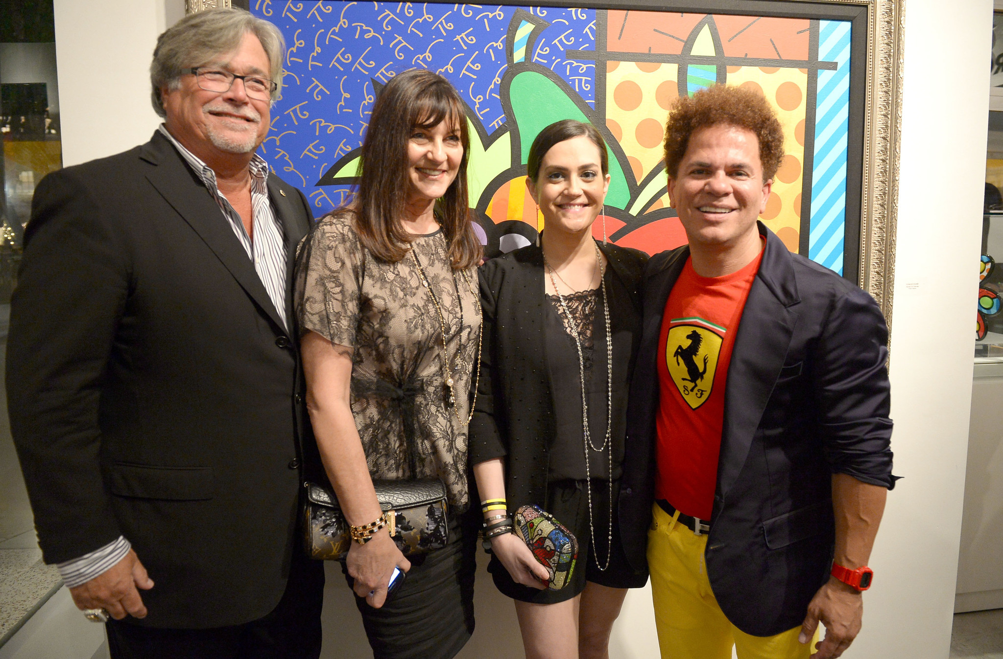 Celeb-spotting around South Florida - Britto Central Gallery