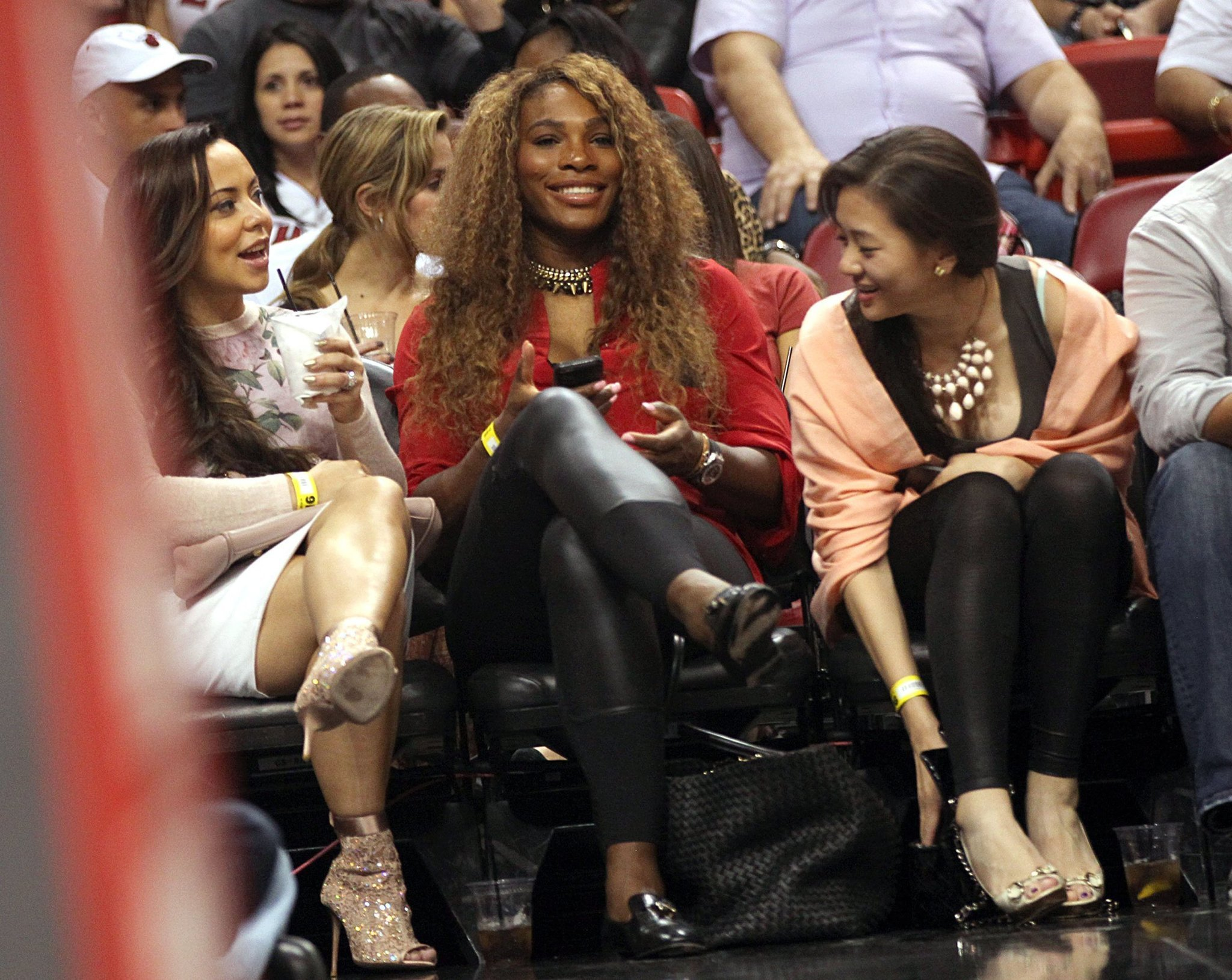 Celeb-spotting around South Florida - Serena Williams
