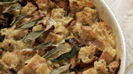 Easy dinner recipes: Savory bread pudding and other one-dish ideas