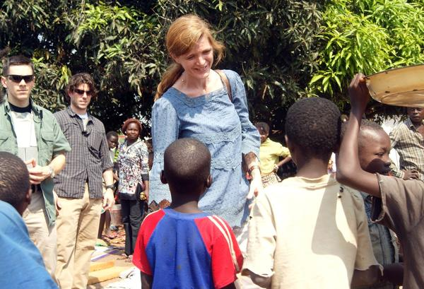 Samantha Power in the Central African Republic