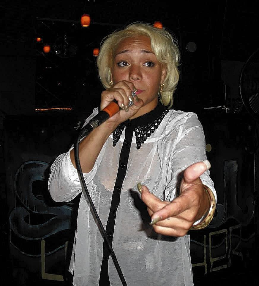 Rapper Angel Davenport will perform in the Waffle Fest hip-hop showcase at the Empty Bottle, Saturday, December 21, 2013.