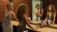 Movie scenes from 'American Hustle'