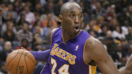 Kobe Bryant out six weeks with a knee fracture