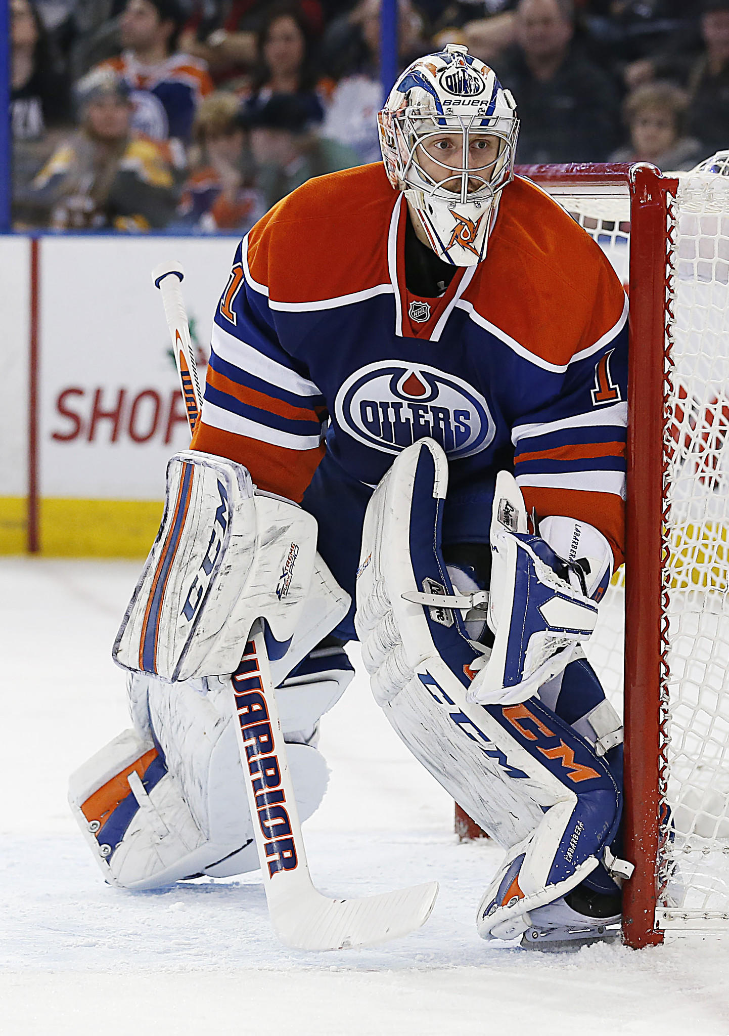 New Blackhawks backup goaltender Jason Labarbera also filled the reserve role in Edmonton.