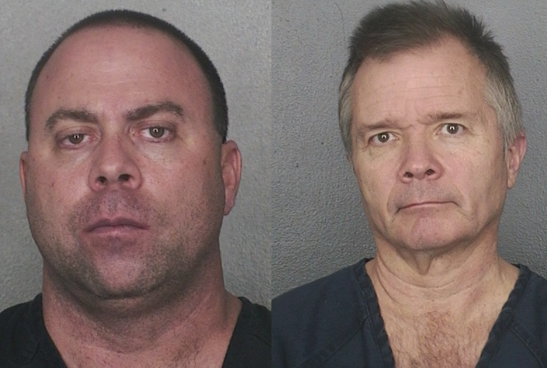 "David Tier, 45, and Paul Miller, 54, pleaded guilty to federal charges related to a 15-year-old runaway girl. Tier admitted he pimped out the girl in Broward County motels, while Miller admitted taking pornographic photos of her to advertise the girl's services on Tier's ""escort service"" website."