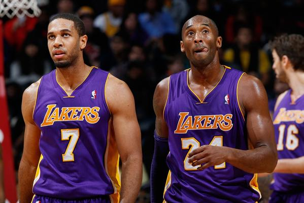 Xavier Henry, left, is the Lakers' only viable option at point guard now with Kobe Bryant out with a knee fracture.